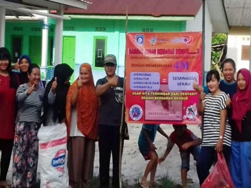 Cegah DBD, Dinkes Bangka Barat Giatkan Sosialisasi Pemberantasan Sarang Nyamuk