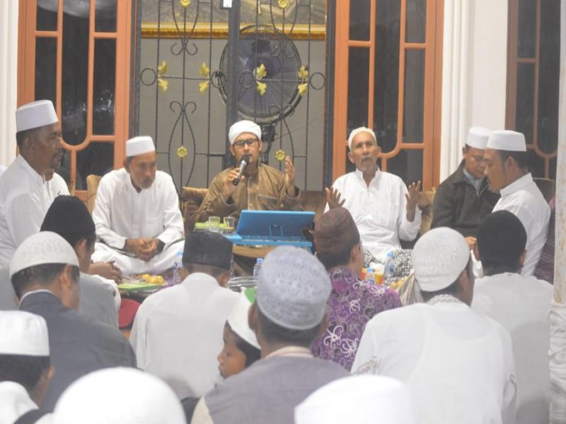 Di Kediaman Sofian Ap, Habib Sampaikan Keutamaan Peringati Maulid Nabi di Rumah