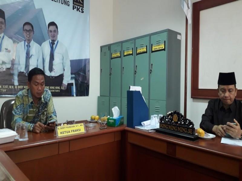 DPRD Babel Susun Perda Peningkatan Pelayanan Kesehatan Masyarakat