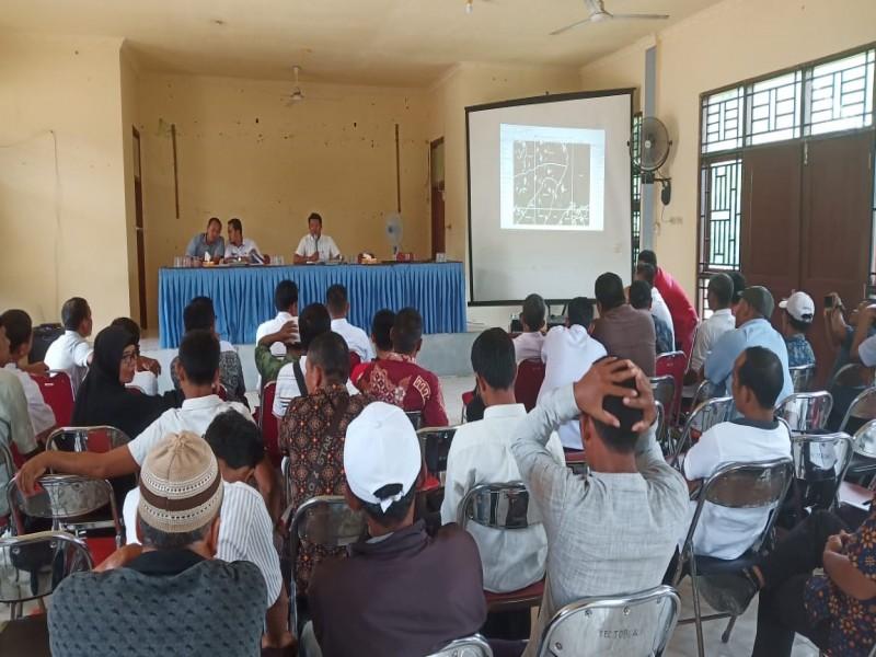 Gelar Musyawarah Batas Desa, Kecamatan Toboali Putuskan Pembangunan Pabrik CPO Masuk Desa Jeriji