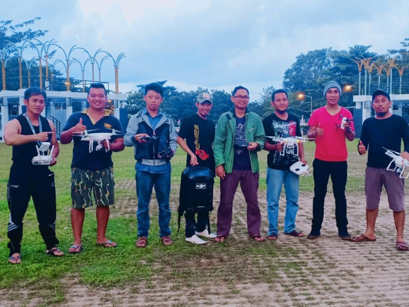 Ngabuburit Ala Komunitas Multicopter Sungailiat