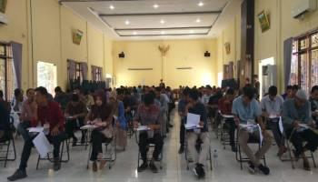 118 peserta Ikuti Tes Tertulis Calon Anggota PPK Bangka Tengah