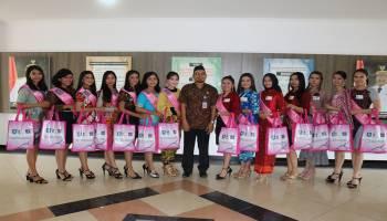 14 Finalis Putri Pariwisata Babel Audiensi dengan Gubernur