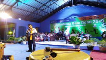 1.607 Atlet Ramaikan Gala Desa Bangka Tengah 2019