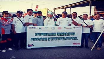 2.500 Warga Mentok Peringati WCD, Pilah Pilih Sampah Mulai Dari Rumah