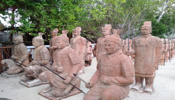 Ada Pasukan Terakota di Tongaci