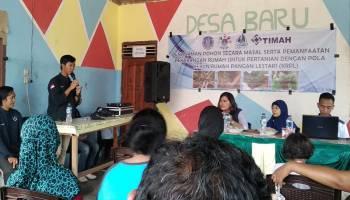 Ajak Warga Ciptakan Lingkungan Hijau, Mahasiswa KKN UBB  Buat Gerakan Tanam Pohon di Perkarangan Rumah