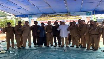 Akses Jalan Menuju Sungai Tebo Mengalami Peningkatan, Masyarakat Dusun Lubuk Laut Gelar Tasyakuran