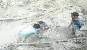 Aktivitas Tambang Ilegal di Belakang Kantor Pemda Bateng Memakan Korban, Muri Tewas Tertimbun Tanah Longsor