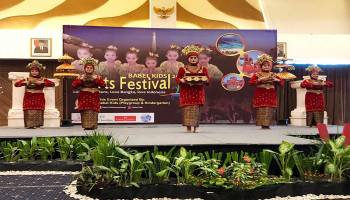 "Babel Kids Arts Festival 2018,  ""Love The Culture, Love Bangka, Love Indonesia"""