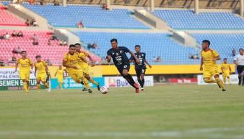 Babel United Tersungkur di Palembang