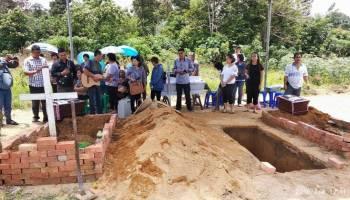 Bagian Tubuh  Teridentifikasi, Tiga Korban Lion Air JT610 Dimakamkan di Sungailiat