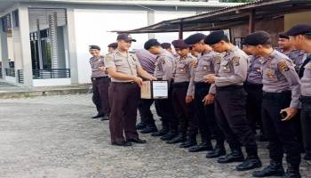 Bantu Korban Gempa Lombok, Ini Dana yang Dikumpul Polres Bangka Barat