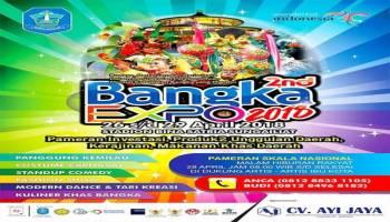 Berbagai Daerah Buka Stand di Bangka Expo 2018