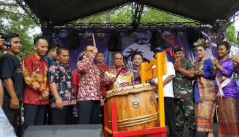 Buka Karang Lintang Festival 2019, Wabup Bangka Minta Jadikan sebagai Motivasi Promosi Wisata
