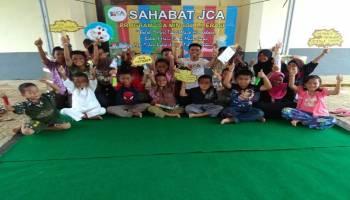 Buka Program Literasi, Sahabat JCA Ajak Anak-anak Gemar Membaca