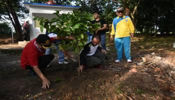 Bupati Bangka Pimpin Kerja Bakti Jumat Bersih