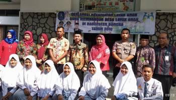 Bupati Mulkan Deklarasikan Kecamatan Layak Anak