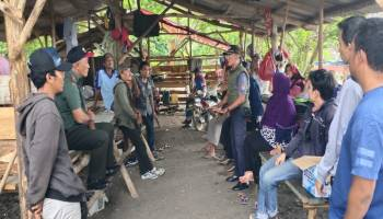 Cuaca Tidak Mendukung, Aksi Demo Di Kantor PT. Timah Dibatalkan