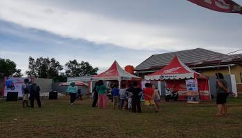 Daya Motor Belitung Gelar Roadshow Mini Lounching All New Honda Beat