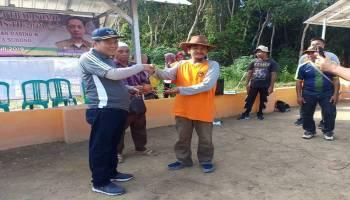 Desa Puput Gelar Perlombaan Olahraga Tradisional Gasing dan Kerito Surong