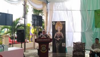 DPC HARPI Pangkal Pinang Sosialisasikan Tata Rias Pengantin di Kecamatan Gerunggang