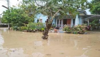 Dua Kampung di Kecamatan Mentok Terendam Banjir
