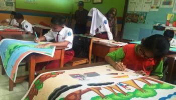 Festival Lomba Seni Siswa Nasional (FLS2N) Tingkat Kecamatan Muntok tahun 2018