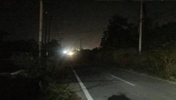 Gara-Gara Tak Punya Lampu Jalan, Pencuri Menggasak Rumah Warga Jalan Bukit Manggis