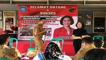 Gelar Reses, Seluruh Anggota DPRD Bateng Turun ee Dapil Masing-masing Guna Serap Aspirasi