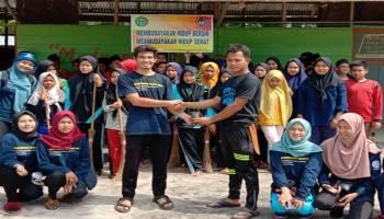 Genbi Komsat IAIN SAS Babel Gelar Baksos Bersih Kampung, Ajak Masyarakat Perduli Lingkungan Bersih