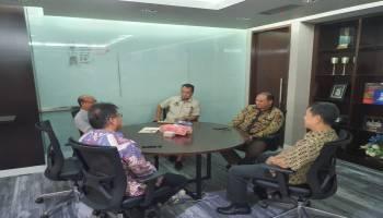 Gubernur Babel Temui Direktur Pengolahan PT Pertamina, Untuk Pastikan Pembangunan Pabrik Katalis