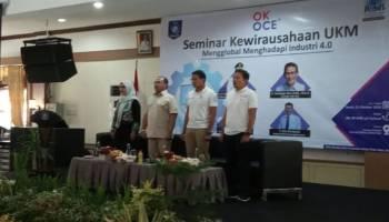 Gubernur Erzaldi Buka Seminar Kewirausahaan UKM Mengglobal Menghadapi Industri 4.0