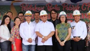 Gubernur Letakan Batu Pertama Pembangunan Pabrik CPO Senilai Rp 150 Miliar