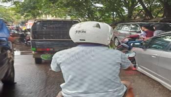 Hari Pertama Puasa, Jalanan di Pangkalpinang Mulai Macet