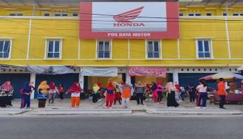 Honda Daya Motor Pangkalpinang Membuka Pos Penjualan Baru di Semabung Lama