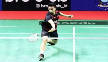 Indonesia Masters 2018:  Kalahkan Thailand, Ikhsan Melangkah ke Babak Dua
