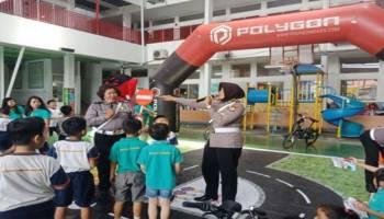 Kampanyekan I LOVE BIKING, Polygon Sosialisasi Safety Cycling untuk Pelajar Indonesia