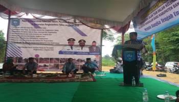 Keinginan Warga Terkabul, Ibnu Saleh Hadiri Peresmian Jalan Dusun Taib