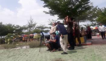 Kendati Mendung, Ratusan Warga Antusias Saksikan GMC di Pantai Desa Terentang