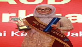 Melati Erzaldi Terima Penghargaan Bunda PAUD Tingkat Nasional