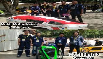 Mobil Listrik Selesai Diperbaiki, Selangkah Lagi Tim UBB Jadi Juara