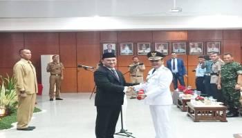 Momen Pelantikkan Wakil Bupati Bangka Tengah