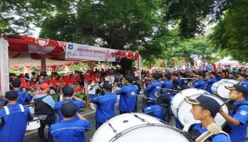 Muntok Gelar Kompetisi Marching Band