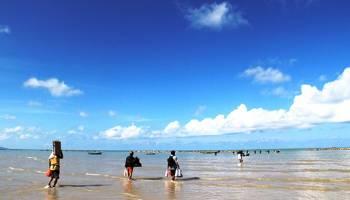 Pantai Pasir Padi Wisata Alam yang Terabaikan