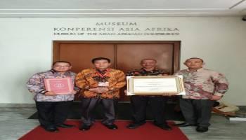 Pemkab Bateng Raih Penghargaan Kabupaten Peduli HAM 5 Tahun Beruntun