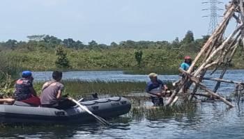 Penambang Ilegal Membandel, 15 Ponton Ditenggelamkan Tim Polres Bangka Tengah