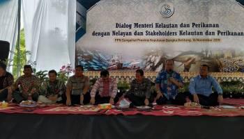 Pendangkalan Alur Muara Air Kantung, Menteri Kelautan Perikanan akan Koordinasi dengan Menhub