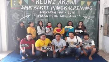 Pererat Silaturahmi, Ratusan Alumni SMK Bhakti Angkatan 1999-2018 Gelar Reuni Akbar