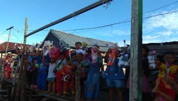 Peringati Hari Anak Nasional, JCA Simpang Rimba Berbagi Kebahagiaan Bersama Anak Dusun Serdang